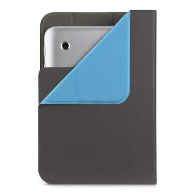 "Belkin tablet case: Universal Cover 7-8"", Charcoal - Blauw, Kolen"