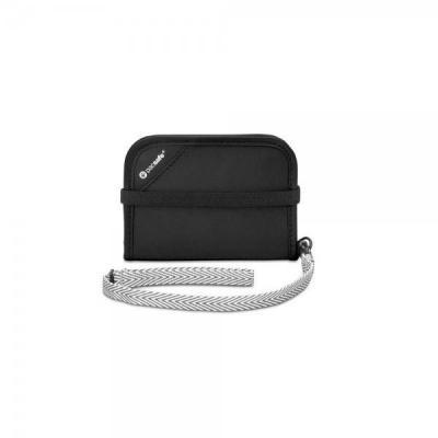 Pacsafe portemonnee: V50 - Zwart