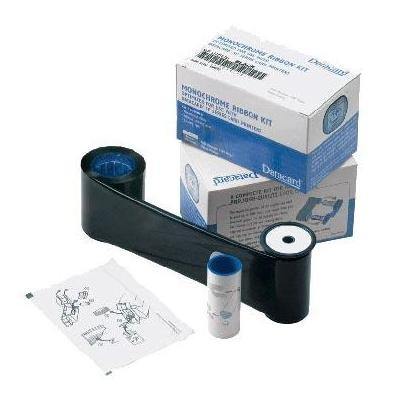 DataCard Graphics Monochrome Ribbon Kit Black HQ (high quality) for the SD260 Plus Card Printer. Printerlint - .....