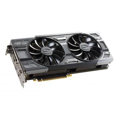 Evga videokaart: GeForce GTX 1080, 8192MB GDDR5X, 256 Bit, PCI-E 3.0, HDMI, DisplayPort x 3, DVI