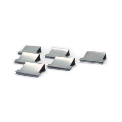 Rapesco papierklem: 50 Stainless Steel Refill Clips, 2-40 Sheet Capacity (80gsm), f / Supaclip 40 - Roestvrijstaal