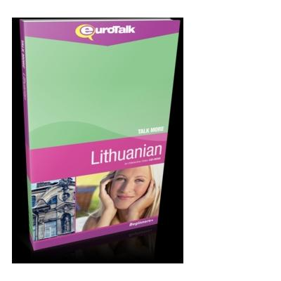 Eurotalk educatieve software: Talk More, Leer Lithuanian (Litouws) (Beginner)