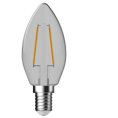 Gp batteries led lamp: Candle, 220-240 V, 2.3 W, 2700 K - Grijs