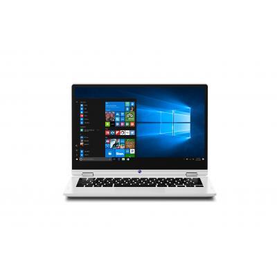 Medion laptop: AKOYA E3213T - Zwart, Wit