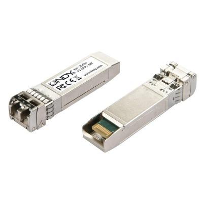 Lindy 10GBase-SR SFP+ LC Transceiver Module, 850nm Netwerk tranceiver module - Zilver