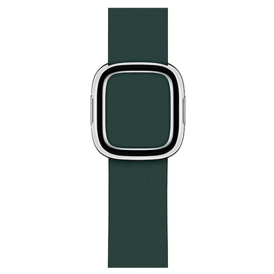Apple : Bosgroen bandje, moderne gesp (40 mm) - Medium