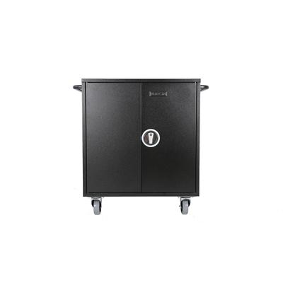 Leba NoteCart Flex Extended 16 (Schuko) Portable device management carts & cabinet - Zwart, Grijs