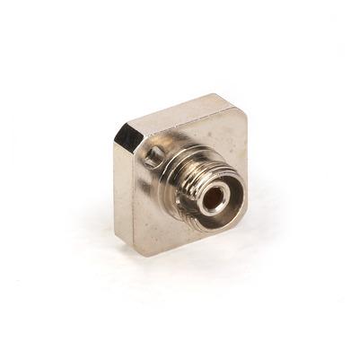 Black Box Fiber Optic Coupling - Multimode, Simplex Fiber optic adapter - Zilver