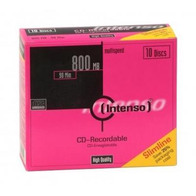 Intenso CD: CD-R 800MB/90min