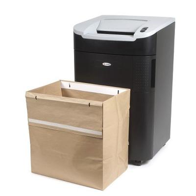 Rexel papier-shredder accesoire: Uitvouwbare Afvalzak voor Auto+ 750X/M Papiervernietiger (50) - Bruin