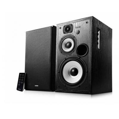 Edifier Speaker: RMS 14Wx2 (treble) + 14Wx2 (midden-tonen) + 40Wx2 (bas) (DRC AAN), Lijn in 1: 700 mV ± 50 mVLijn in .....