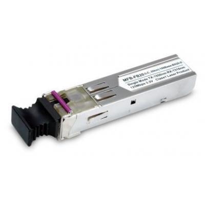 ASSMANN Electronic SFP-Port 100Base-BX Transceiver (WDM,TX:1550nm) -20km Netwerk tranceiver module - .....
