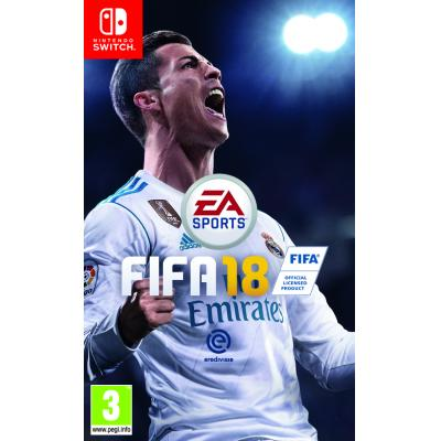 Electronic arts game: FIFA 18  Nintendo Switch