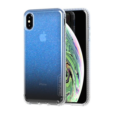 Innovational Pure Shimmer Mobile phone case - Blauw, Transparant