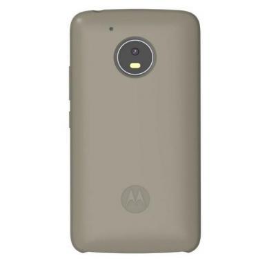 Lenovo mobile phone case: Silicone Back Cover for Moto G5 - Grijs
