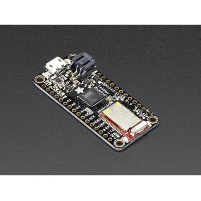 Adafruit : ATmega32u4 8MHz, 7x PWM pins, 10x analog in, 20 GPIO pins, USB, Bluetooth LE, 51.2x22.8x8 mm