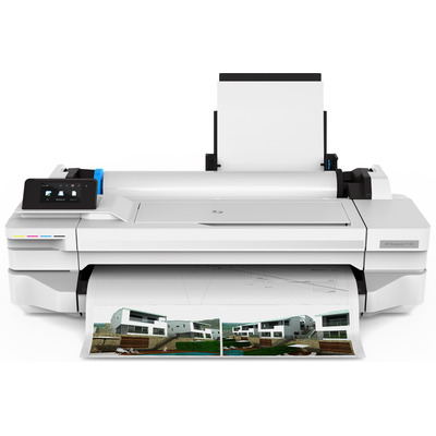 HP Designjet T125 Grootformaat printer - Zwart, Cyaan, Magenta, Geel