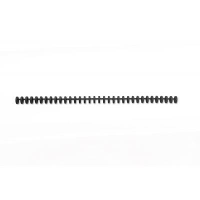 Gbc inbinder: ClickBind Bindruggen Zwart 8mm (50)