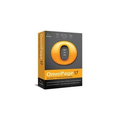 Nuance OCR software: OmniPage OmniPage 17 Standard