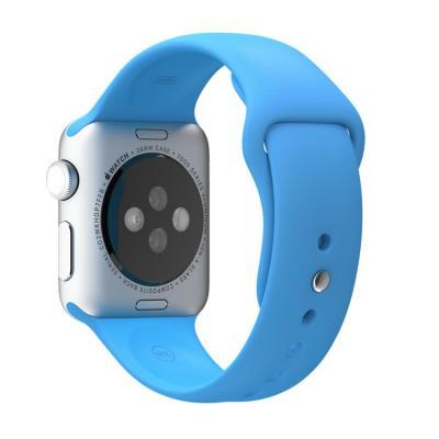 Apple horloge-band: 38mm Blue Sport Band - Blauw