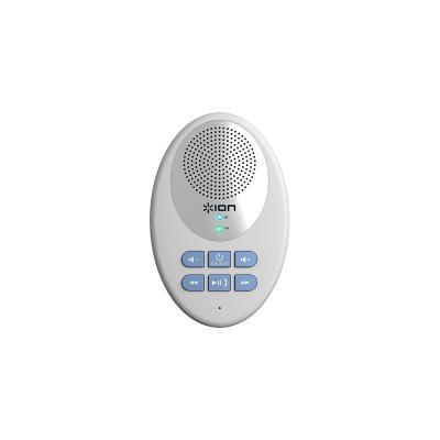 Ion draagbare luidspreker: Bluetooth, IPX4, FM radio - Wit