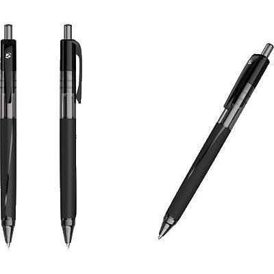 5star gelpen: Write width 0.5mm, Retractable, Non-refillable, Black - Zwart