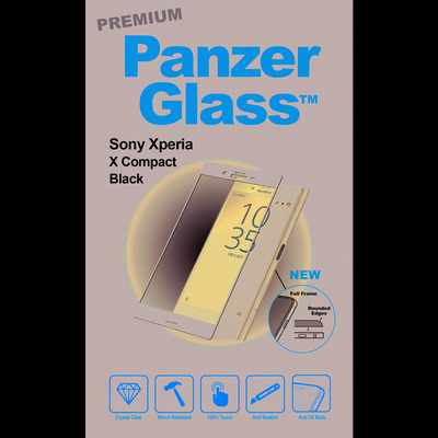 PanzerGlass Sony Xperia X Compact Curved Edges Screen protector - Transparant
