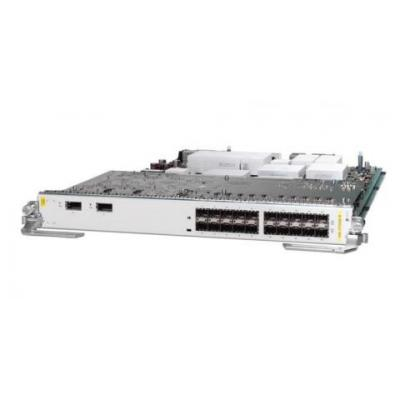 Cisco netwerk switch module: 2-Port 10GE, 20-Port GE Low Queue Combo Line Card, requires XFPs for 10GE, SFPs for GE