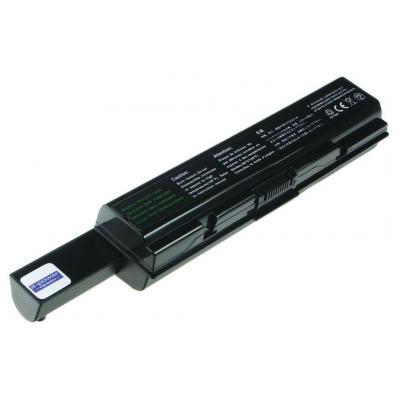 2-power batterij: 10.8v 9200mAh Li-Ion Laptop Battery - Zwart
