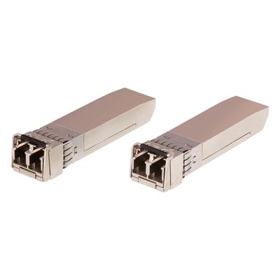ATEN 10G Multi Mode/300M Fiber SFP+ Module Netwerk tranceiver module - Roestvrijstaal