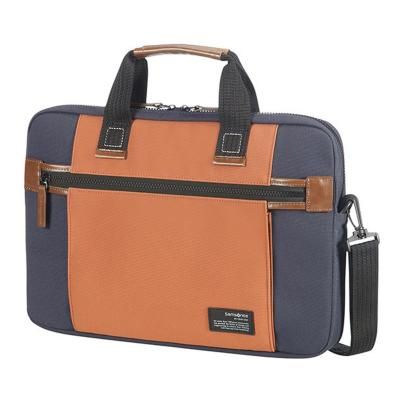 Samsonite laptoptas: Sideways - Blauw, Oranje