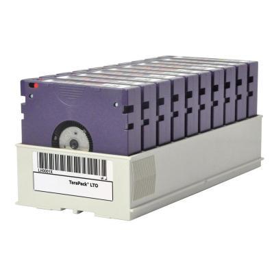 Hp datatape: LTO-6 Ultrium 6.25 TB BaFe RW Terapack (10 pack)