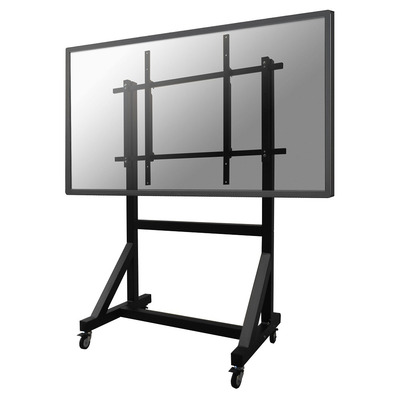 """Newstar De PLASMA-M3000E is een verrijdbaar meubel voor flat screens t/m 100"""" (254 cm). TV standaard - Zwart"""