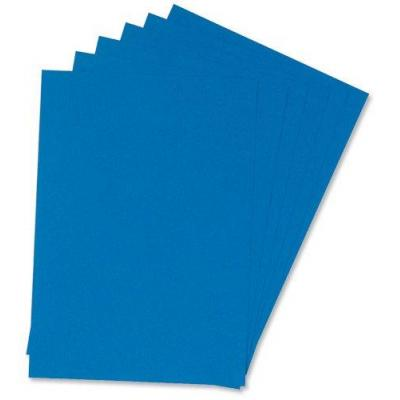 5star binding cover: (A4) Binding Covers 240gsm Leathergrain, Royal Blue, Box of 100 - Blauw