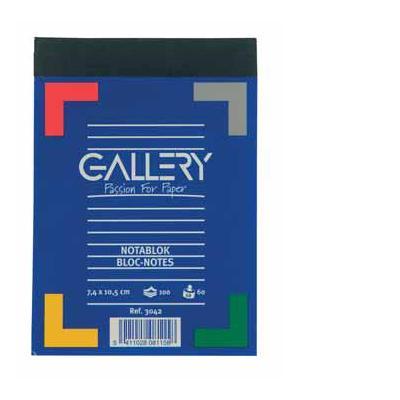 Gallery bedrijfsformulier: NOTABLOK A7 70G 100V GELIJND