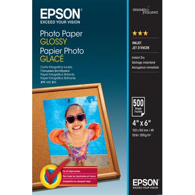 Epson Photo Paper Glossy - 10x15cm - 500 Vellen Fotopapier