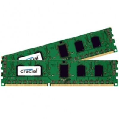 Crucial CT2K51264BD160BJ RAM-geheugen - Zwart, Groen