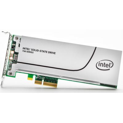Intel SSD: 750 400GB - Grijs