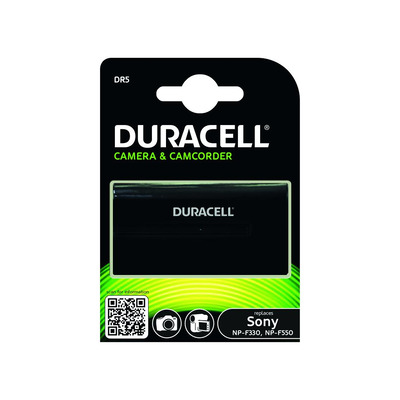 Duracell Camcorder Battery - replaces Sony NP-F330/NP-F550 Battery - Zwart
