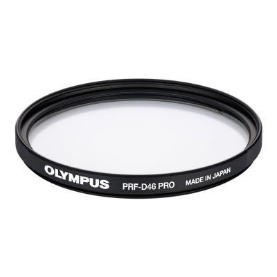Olympus camera filter: PRF-D46 PRO MFT - Zwart, Transparant