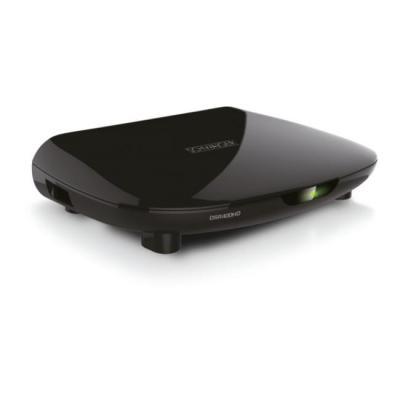 Schwaiger ontvanger: SAT, DVB-S2, EPG, USB 2.0, LNB, HDMI, 220x45x135 mm - Zwart