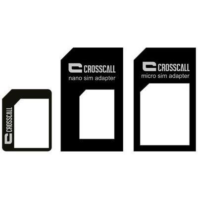 Crosscall SIM/flash memory card adapter: SIMKAARTADAPTER NETWERK - Zwart
