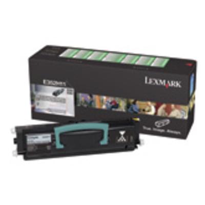 Lexmark E350, E352 retourprogrammacartr., 9K Toner - Zwart