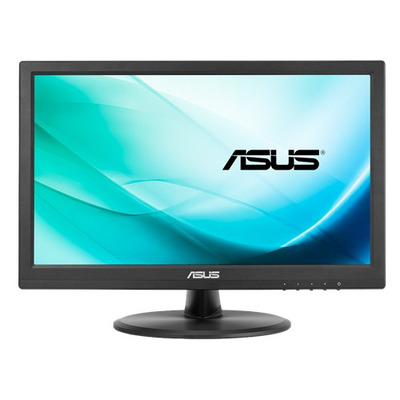 ASUS VT168N point touch monitor touchscreen monitor - Zwart