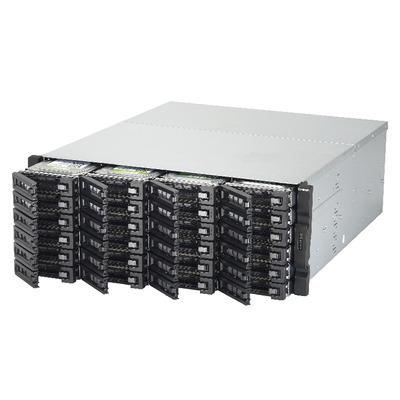 QNAP TVS-EC2480U-SAS-RP R2 NAS - Zwart