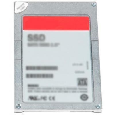 "Dell SSD: 3.84TB SSD SAS MLC 12GB/s 2.5"" - Grijs, Rood"
