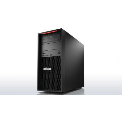 Lenovo ThinkStation P310 Tower Xeon E3 v5 16GB RAM 512GB SSD Pc - Zwart