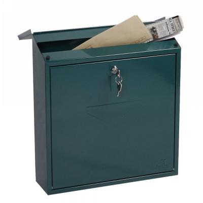 Phoenix postbus: 390 x 365 x 115 mm, Key Lock, 3 kg, Green - Groen