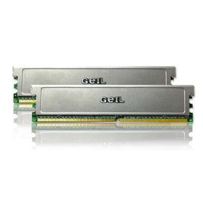 Geil RAM-geheugen: PC2-6400 DDR2-800 4GB Dual Channel Kit