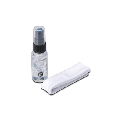 Ednet Display Cleaning Set, 30ml, Microfiber Reinigingskit - Wit